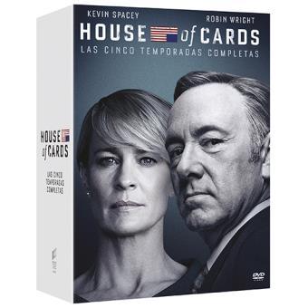 House of Cards  Temporadas 1-5 - DVD
