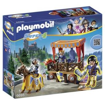 Playmobil Super 4 Tribuna real con Alex