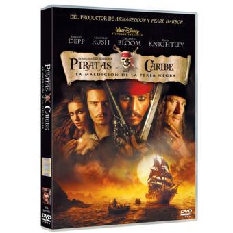 Piratas del Caribe - DVD