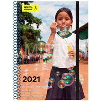 Agenda anual 2021 semana vista Amnistía Internacional
