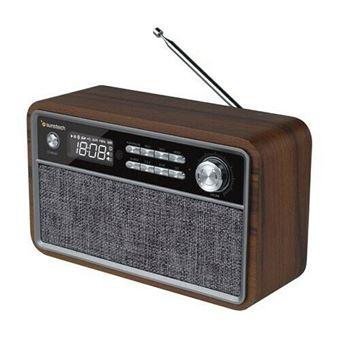 Radio Sunstech RPBT500 Retro Madera