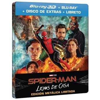 Spiderman: Lejos de casa - Steelbook 3D + Blu-Ray