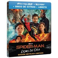 Spiderman: Lejos de casa - Steelbook 3D + Blu-Ray