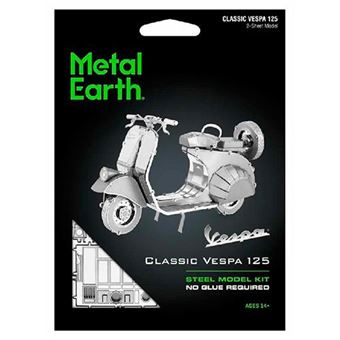 Puzzle metal figura 3D Classic Vespa 125 Metal Earth
