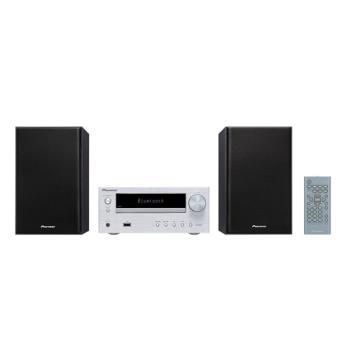 Microcadena Bluetooth Pioneer X-HM26-S Plata