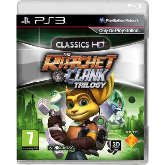 The Ratchet & Clank Trilogy HD PS3