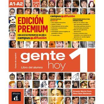 Gente Hoy 1 - Libro del alumno - Ed premium - A1-A2