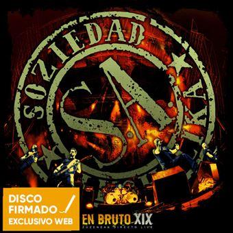 En Bruto XIX - CD + DVD - Disco Firmado