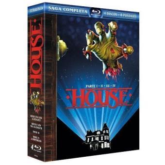 Pack House, una casa alucinante (1-4) - Ed. Coleccionista lenticular - Blu-Ray