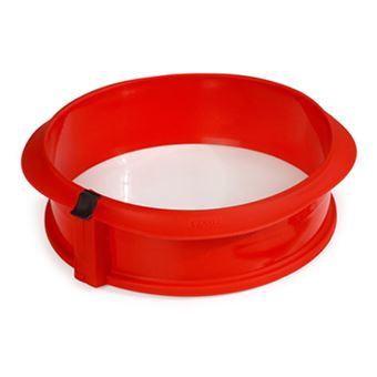 Molde desmontable Lékué 23 cm Rojo