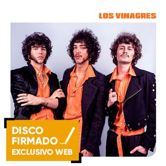 Los volcanes - Disco Firmado