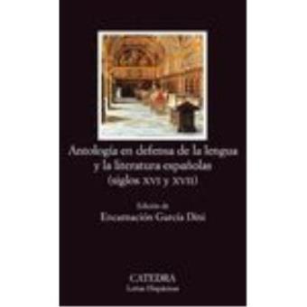 Antología en defensa de la lengua y literatura españolas