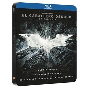 El Caballero Oscuro La Trilogía - Steelbook Blu-Ray