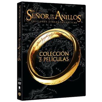 Trilogía El Señor de los Anillos - Edición cinematográfica - DVD