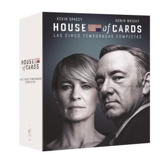 House of Cards  Temporadas 1-5 - Blu-Ray