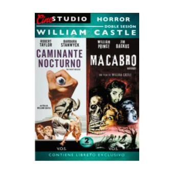 Pack Doble sesión William Castle: (Caminante nocturno + Macabro) (2 DVD) - DVD