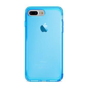 3e2092c2d1a Funda Puro Ultraslim Nude Fluo Azul para iPhone 7 Plus/8 Plus ...