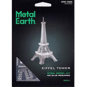 Puzzle metal figura 3D Torre Eiffel Metal Earth