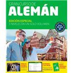 Gran curso Pons de alemán A1-A2-B1 - Edición Especial - 4 libros + 4 CD + DVD