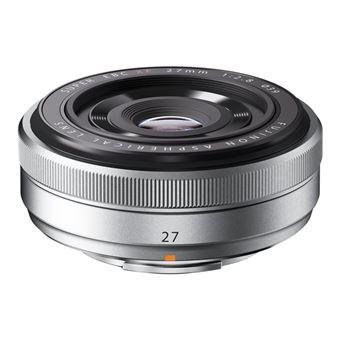 Objetivo Fujifilm XF 27mm f2.8 plata