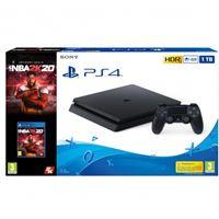 Consola PS4 Slim 1TB + NBA2K20