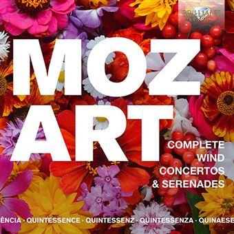 Quintessence Mozart - Complete Wind Concertos & Serenades - 5 CD
