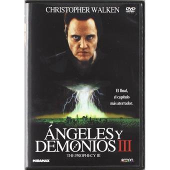 Ángeles y demonios 3 - DVD