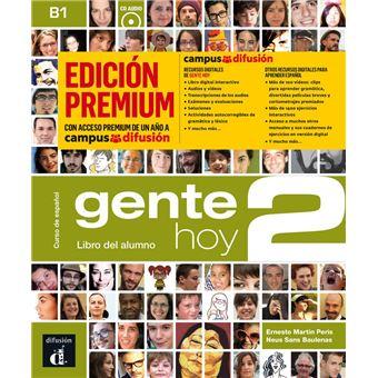 Gente Hoy 2 - Libro del alumno - Ed premium - B1