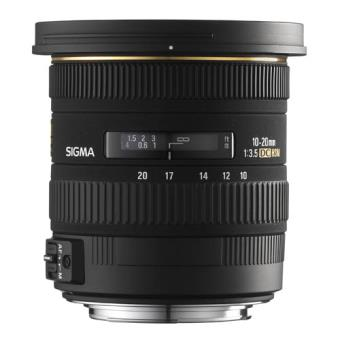 Objetivo Sigma 10-20 mm F3.5 EX DC HSM para Nikon