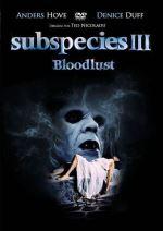 Subespecies 3 -DVD