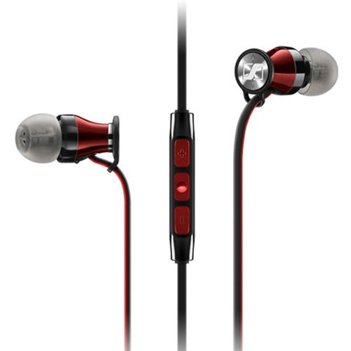 Auriculares Sennheiser Momentum Rojo para iPhone