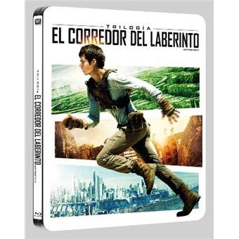 El corredor del laberinto La Trilogía - Steelbook Blu-Ray