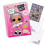 Cuaderno Lol Surprise espiral rosa