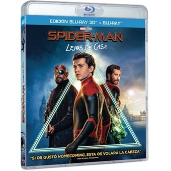 Spiderman: Lejos de casa - 3D + Blu-Ray