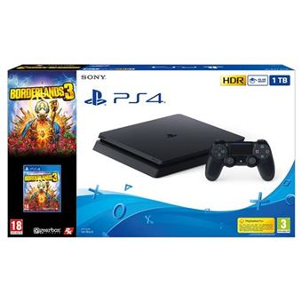 Consola PS4 Slim 1TB + Borderlands 3
