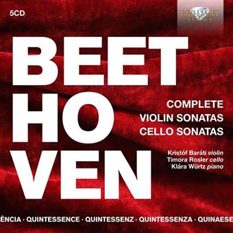 Quintessence Beethoven - Complete Violin Sonatas & Cello Sonatas - 5 CD