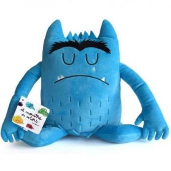 Peluche El monstre de colors Blau