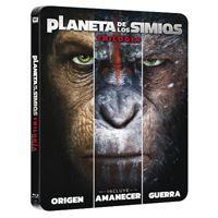 El Planeta de los Simios La Trilogía - Steelbook Blu-Ray