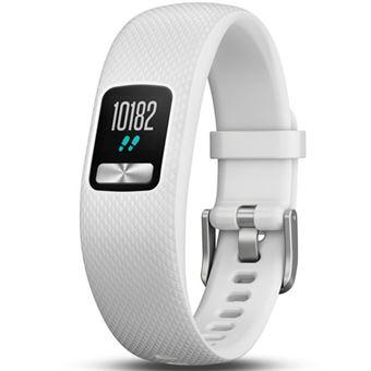 Smartband Garmin Vivofit 4 Blanco Talla S