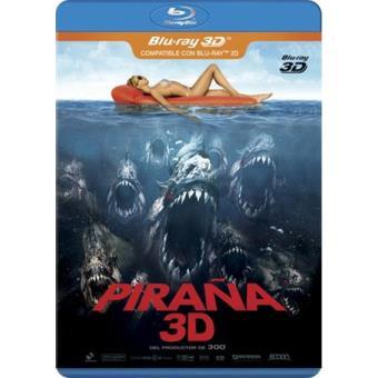 Piraña - Blu-Ray + 3D