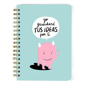 Libreta A5 Lyona Ideas cartón