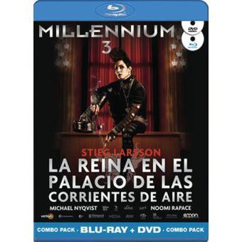Millennium 3: La reina en el palacio de las corrientes de aire - Blu-Ray + DVD