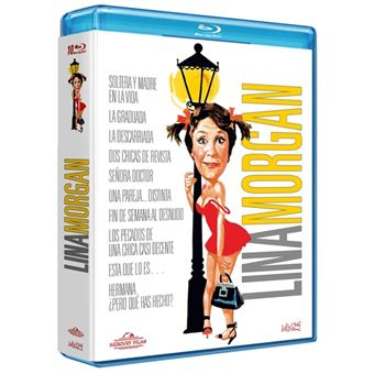 Pack Lina Morgan -10 Películas - Blu-Ray
