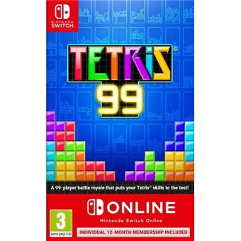 Tetris 99 - 12 meses Nintendo Switch Online - Nintendo Switch