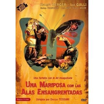 Una mariposa con las alas ensangrentadas - DVD