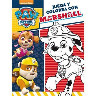 Paw Patrol: Juega y colorea con Marshall