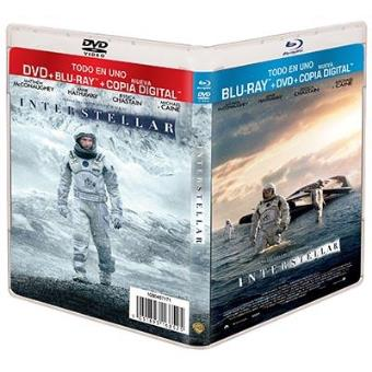 Interstellar - Blu-Ray + DVD