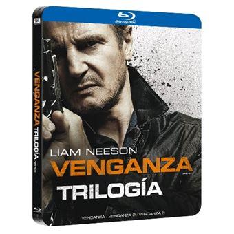 Venganza (Taken) La Trilogía - Steelbook Blu-Ray