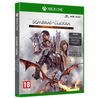 La Tierra Media - Sombras de Guerra Game Of The Year - XBox One