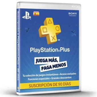 Tarjeta Prepago PlayStation Plus 90 días